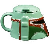 Чашка Star Wars Boba Fett Helmet Sculpted 3D Ceramic Mug 20 oz.