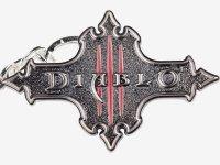 Брелок - Diablo III Logo Keychain