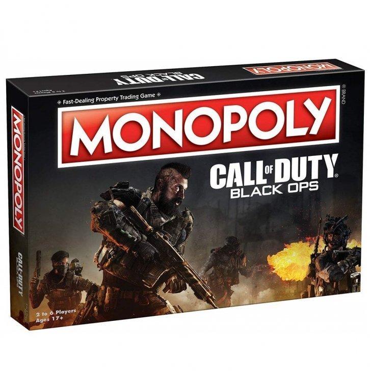 Монополия настольная игра Monopoly Game: Call of Duty Black Ops