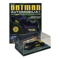 Модель авто  Batmobile Vehicle Detective Comics #591 + журнал