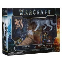 Набор фигурок Warcraft Movie - Battle Lothar vs Blackhand Set