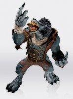 World of Warcraft® Wave 7 Action Figure - Worgen Spy Garm Whitefang