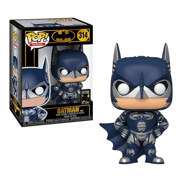 Фигурка Funko Pop Heroes: Batman 80th - Batman (1997)