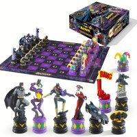 Шахматы Бэтмен The Batman Chess Set (The Dark Knight vs The Joker)