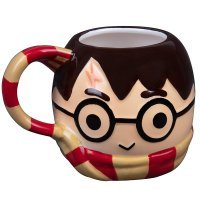 Кружка Harry Potter with Gryffindor Scarf 3D Sculpted Ceramic Mug 24 oz