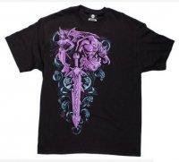 Футболка World of Warcraft Warlock Legendary Class T-Shirt (размер L)