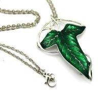 Медальон-брошка  LOTR Green Leaf Elven