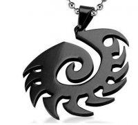 Медальон StarCraft 2 Zerg Necklace (цвет: чёрный)