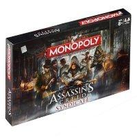 Монополия настольная игра Assassins Creed Syndicate Monopoly