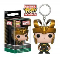 Брелок Funko Pocket Marvel - Loki POP Keychain