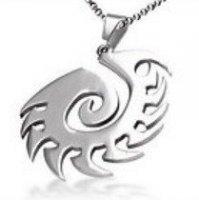 Медальон StarCraft 2 Zerg Necklace (цвет: серебро)