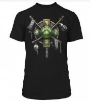 Футболка World of Warcraft Monk Class Crest Premium (размер M)