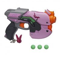 Overwatch D.Va Nerf Rival Blaster Овервотч оружие игрушка