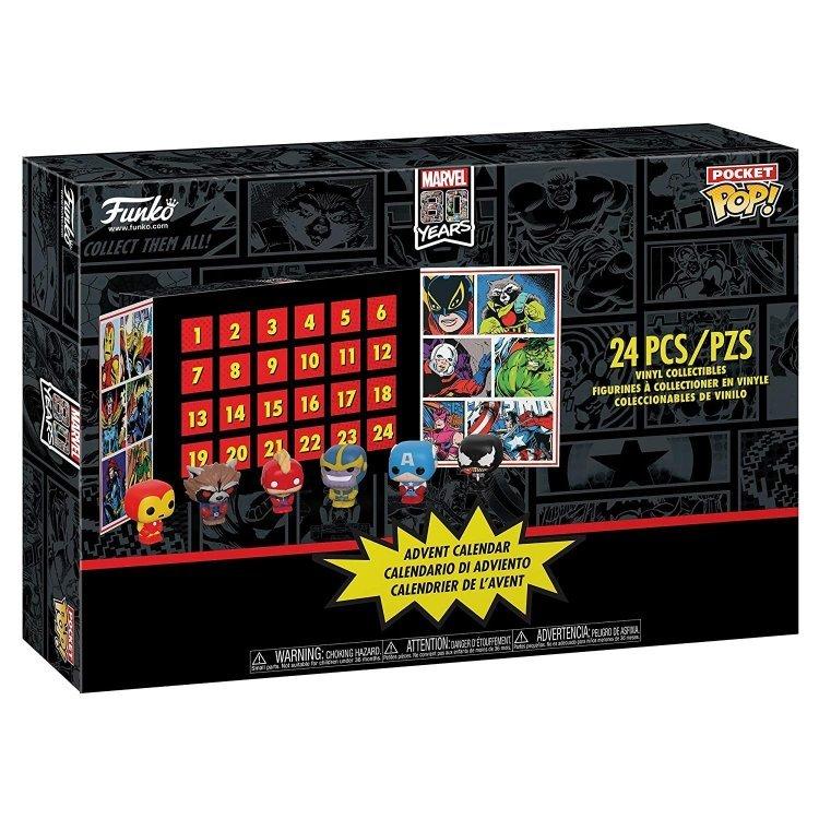 Календарь Funko Advent Calendar: Marvel 80th Anniversary, 24Pc