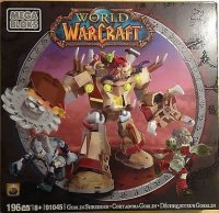 Mega Bloks World of Warcraft: goblin shredder