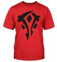 Футболка World of Warcraft Mists of Pandaria Horde Faction Logo T-Shirt (размер M)