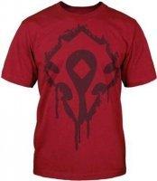 Футболка World of Warcraft Horde Crest Stencil T-Shirt  (размер L)