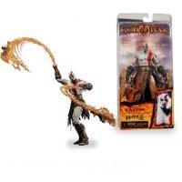 Фигурка God of War II Kratos with Flaming Blades of Athena