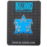 Значок 2016 Blizzcon Blizzard Collectible Pins - Terran Logo Pin