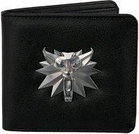 Кошелек JINX The Witcher 3 White Wolf Bi-Fold Wallet Black