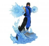 Фигурка DIAMOND SELECT TOYS Mortal Kombat Gallery: Sub-Zero Figure СабЗиро