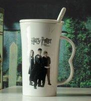 Кружка Harry Potter + крышка + ложка