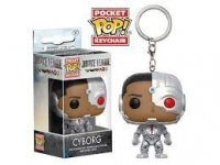 Брелок DC: Funko Pocket POP! Keychain - Justice League - Cyborg