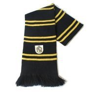 Шарф широкий Хаффлпаф (Scarf Harry Potter Hufflepuff Wool)