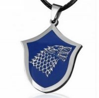 Брелок Game of Thrones  Stark Wolf