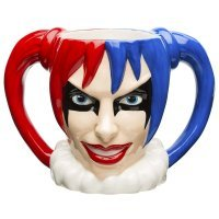 Чашка DC Comics Sculpted ceramic Mug - Harley Quinn 10 oz