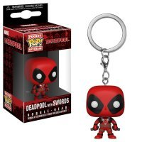 Брелок Marvel Deadpool with Sword Pop! Vinyl