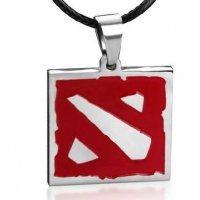 Медальон  Dota 2 (цвет серебро)