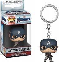 Брелок Funko Pop! Keychains: Avengers Endgame - Captain America