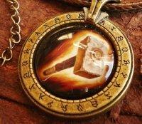 Медальон World of Warcraft  класс паладин Paladin (Металл + стекло)