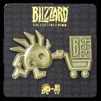 Значок 2017 Blizzcon Exclusive Murloc Blizzard Pin