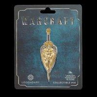 Значок collectible Pin Warcraft LLANE SWORD and SHIELD DUAL PIN