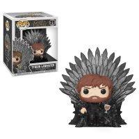 Фигурка Funko Pop Deluxe: Game of Thrones - Tyrion Sitting On Iron Throne фанко Тирион