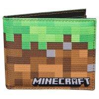 Кошелёк Minecraft Dirt Block Nylon Bi-Fold Wallet