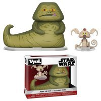 Фигурка Funko VYNL: Star Wars - Jabba Hutt and Salacious Crumb