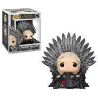 Фигурка Funko Pop Deluxe: Game of Thrones - Daenerys Sitting On Iron Throne фанко Дейнерис