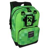 """Рюкзак Майнкрафт - Minecraft Creepy Creeper Kids Backpack (Green, 17"""") School"""