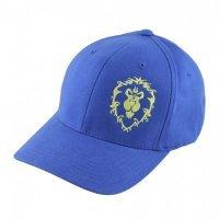 Кепка World of Warcraft Azeroth Choppers Alliance Hat (размер S/M, L/XL) синий