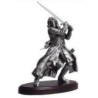 Фигурка - Lord of the Rings/Hobbit ARAGORN Pewter  statue Figure (NECA)