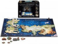 4D пазлы Game of Thrones - Cityscape 4D Westeros and Essos Puzzle (891 Piece)
