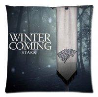 "Наволочка Game of Thrones Stark Wolf ""Winter is Coming"""