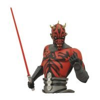 Фигурка-копилка Star Wars Darth Maul Bust Bank