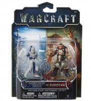 Фигурка Warcraft Movie - ALLIANCE SOLDIER VS DUROTAN Figure set