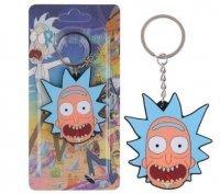 Брелок Рик и Морти Rick And Morty №9 Двухсторонний Объемный 3D брелок