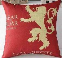 Подушка Game of Thrones  (Cotton & Linen) Lannister