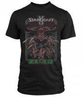 Футболка StarCraft II Retro Zerg Premium (размер L)